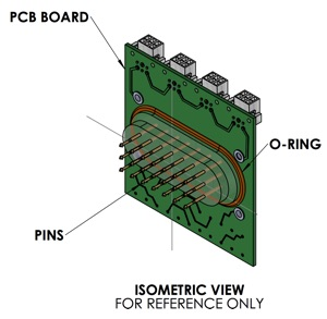 PCB Vacuum Feedthrough